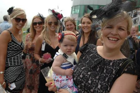 Family fun at Brighton Races