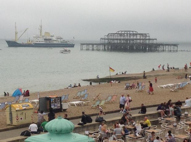 MIST: Ship off Brighton was a big surprise