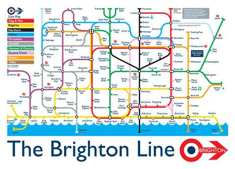 Brighton Bus Map Could Brighton and Hove buses get their own 'tube map'? | The Argus
