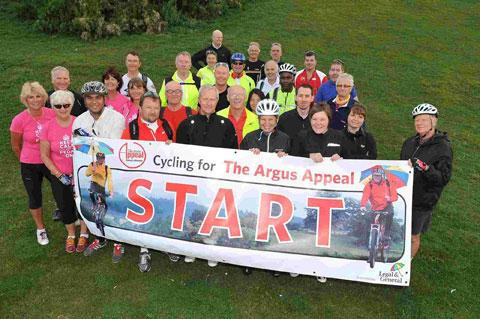 Argus Appeal Brighton to Paris cyclists