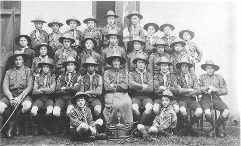 First Henfield Scout troop pictured in 1919
