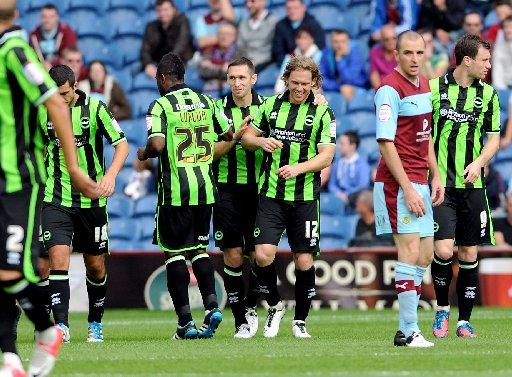 Mackail-Smith is congratulated at the weekend