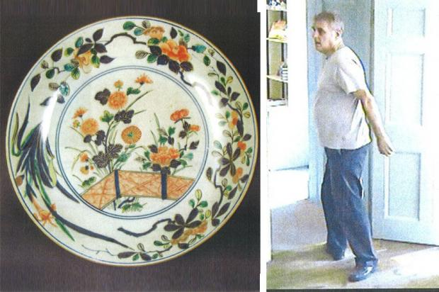 Police hunt man after Petworth House plates theft