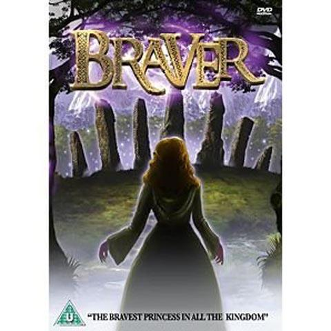 The DVD cover of Braver © Brightspark Productions