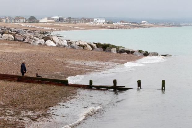Sea safe for swimming following raw sewage dump