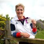 Equestrian Tina Cook from Findon, won silver in team eventing