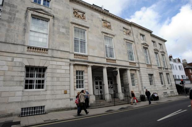 The trial is being heard at Lewes Crown Court