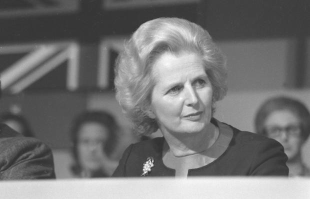 Margaret Thatcher at the 1976 Conservative party conference