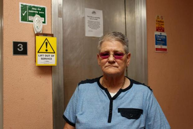 "Disabled woman ""trapped"" in Brighton flat due to faulty lift"
