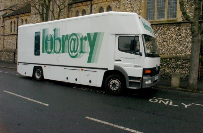 Brighton and Hove mobile library is under threat from council cuts
