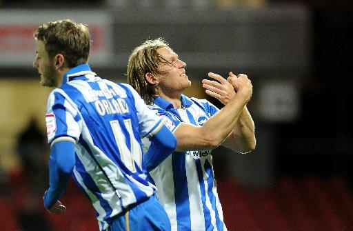Middlesbrough expect to face Craig Mackail-Smith today