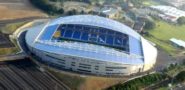 The American Express Community Stadium is on the long list of venues selected to host World Cup matches