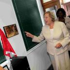 Baroness Hanham at Portslade Learning Centre