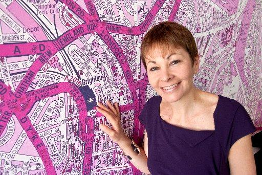 Brighton Pavilion Green MP Caroline Lucas