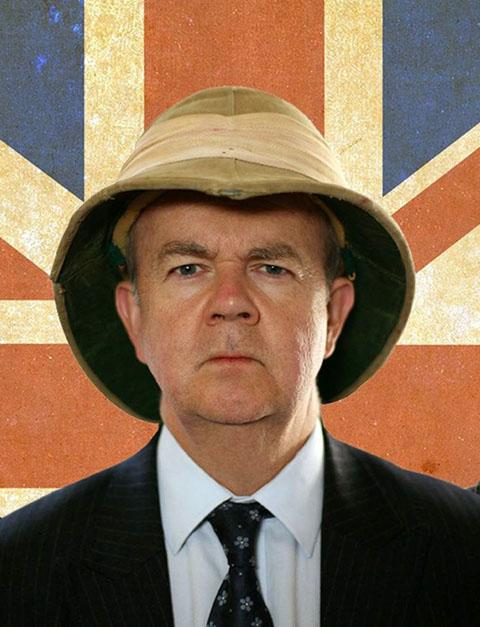 Ian Hislop in his new TV series