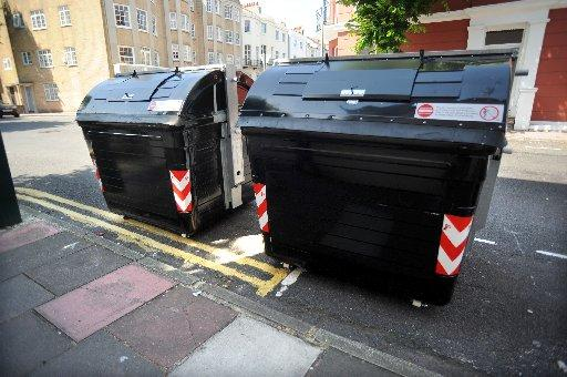 Communal rubbish bins going on trial in the Hanover and Triangle areas of Brighton