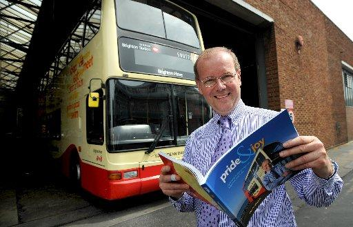 Roger French, managing director of Brighton and Hove Bus Company