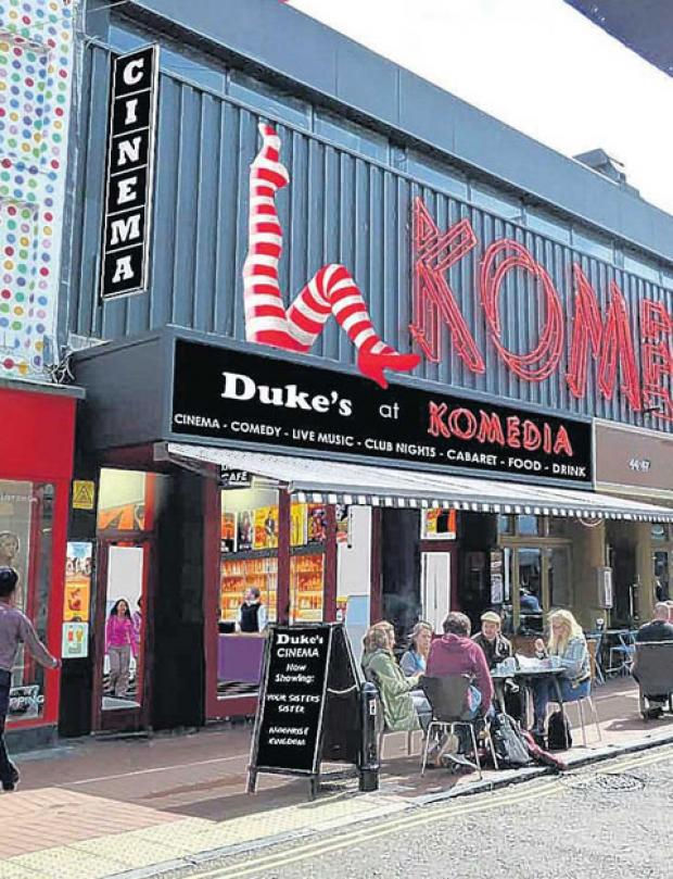 Brighton cinema's can-can legs planned for North Laine branch