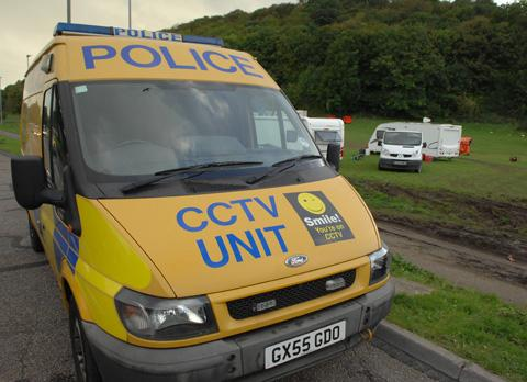 CCTV van keeps watch over Wild Park travellers