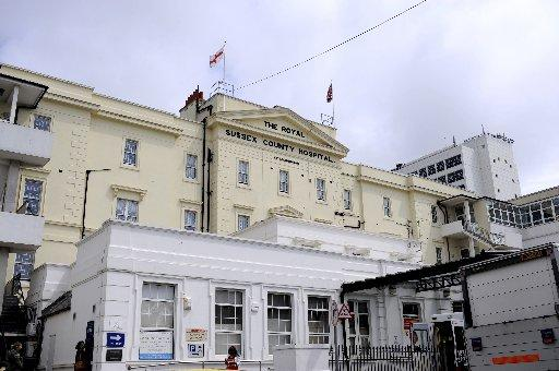 Crisis continues at Royal Sussex County Hospital