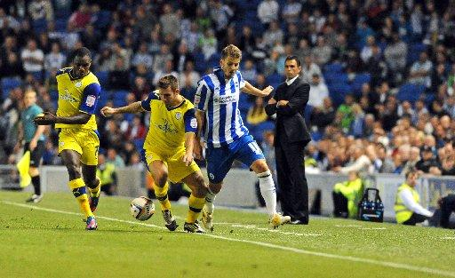 Orlandi, could return to the Albion team at Blackpool
