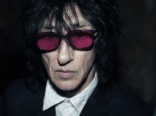 John Cooper Clarke. Photo by Gerald Jenkins