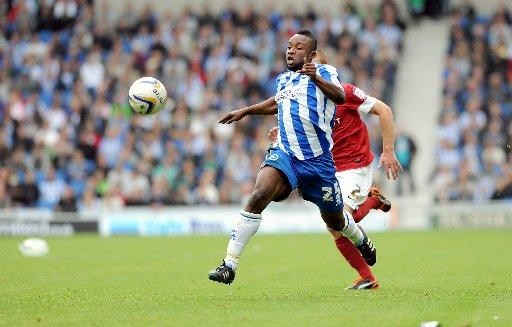 Kazenga LuaLua featured for the development team yesterday