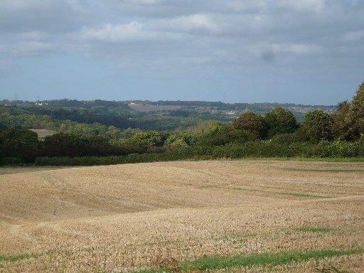 The view towards Crowhurst from point 5