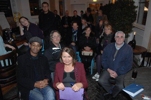 People at the Seven Dials improvement meeting