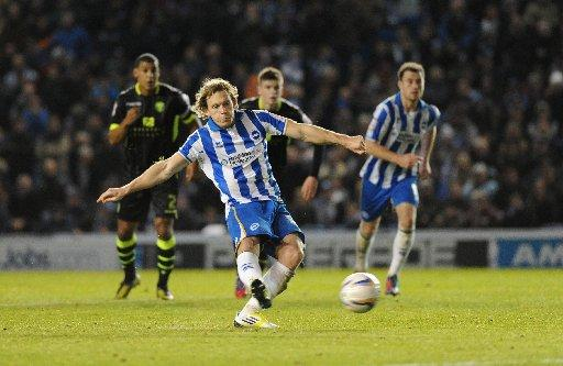 Craig Mackail-Smith missed from the spot against Leeds
