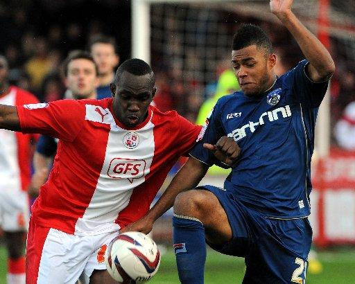 Claude Davis could return for Crawley after missing the win over Met Police