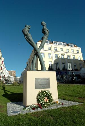 In 2009, a memorial was built in Brighton's New Steine Gardens to remember those who have died from AIDS.