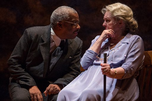 Don Warrington as Hoke Coleburn and Gwen Taylor as Daisy Werthan. Photo by Nicholas Dawkes