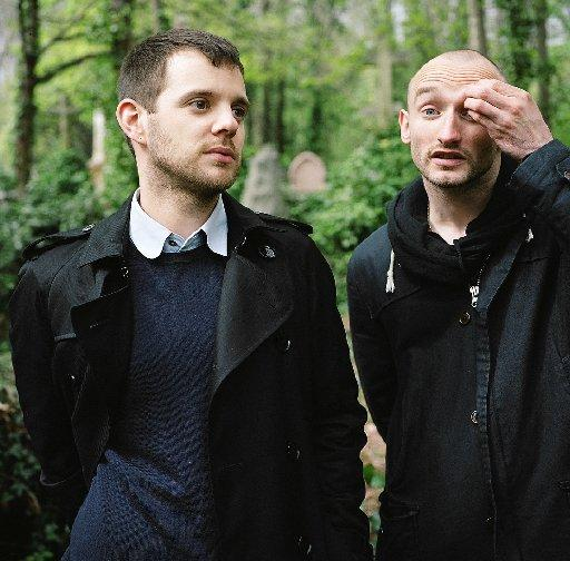 Mike Skinner and Rob Harvey of The D.O.T