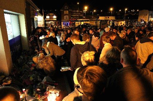 Hundreds of people paid tribute to Connor Saunders after his sudden death in April