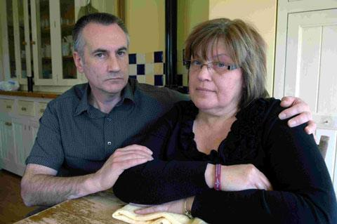 The Argus: Ian and Gill Prior, whose son Daniel was killed in Afghanistan