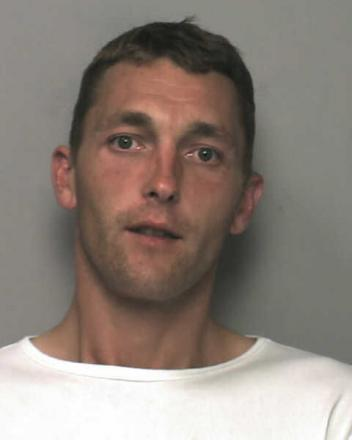 Window cleaner Daniel Hobden who has been jailed for burgling homes in Chichester