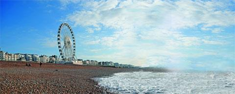 From the Palace Pier to Brighton Marina