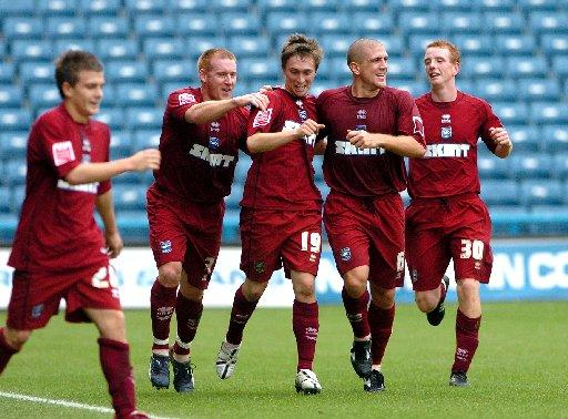 Albion enjoy Jake Robinson's hat-trick at Huddersfield in 2006