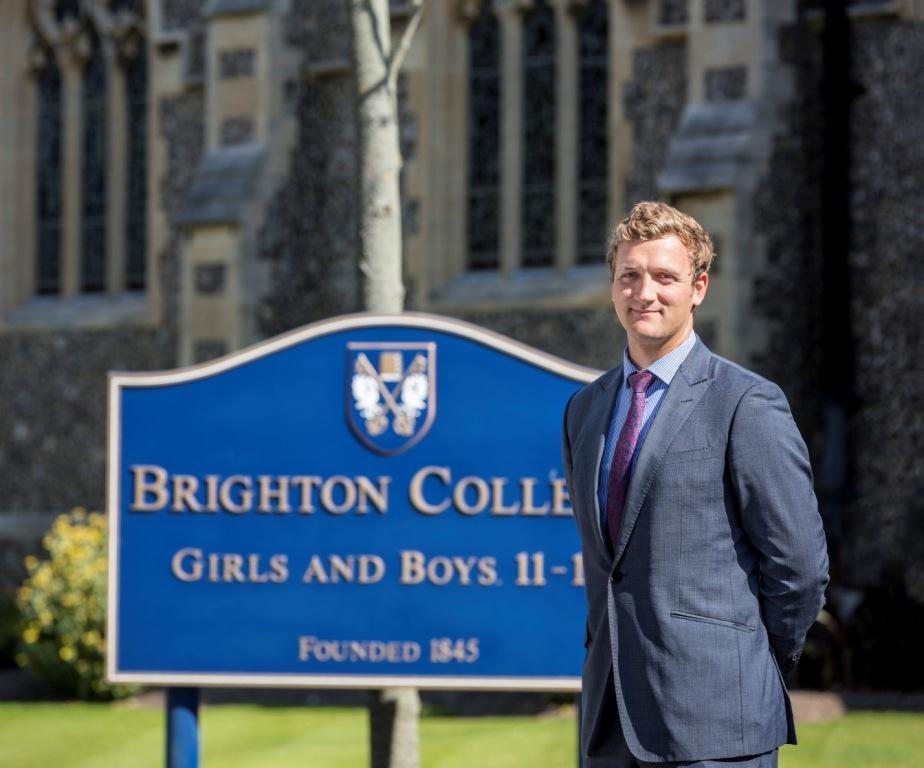 Brighton College science teacher Richard Grice