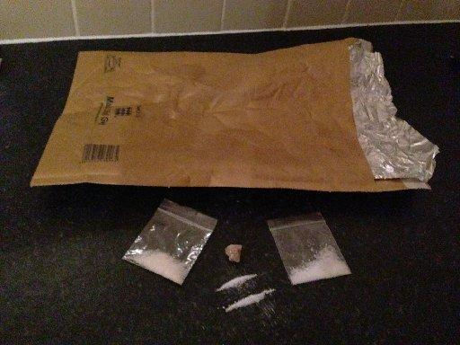 Drugs delivered via the Silk Road website