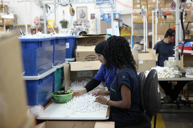 The Argus: Workers at the SodaStream factory in Mishor Adumim
