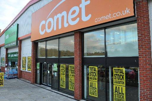 The Hove branch of Comet