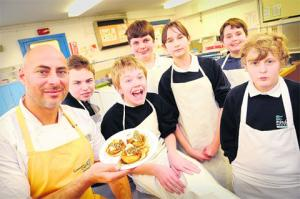 The Argus: Robin Van Creveld encouraging young cooks