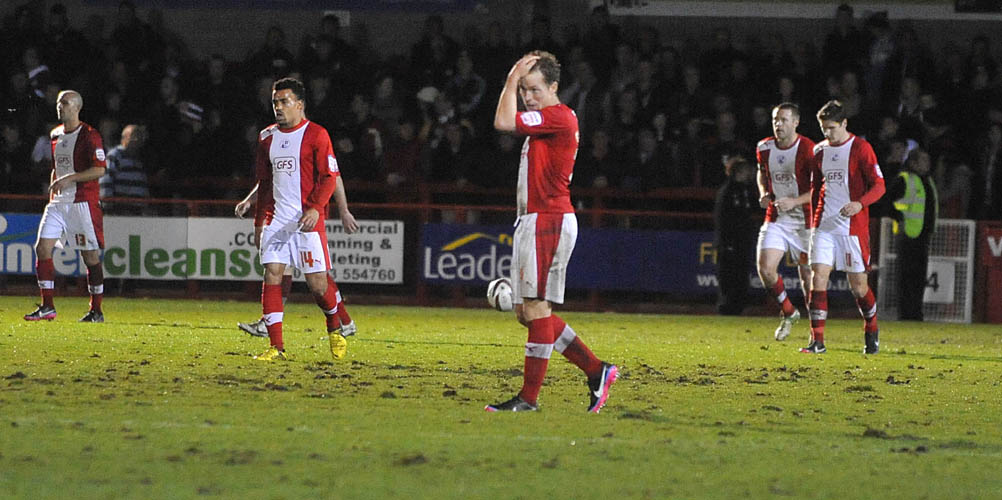 Late goal sends Reds to defeat