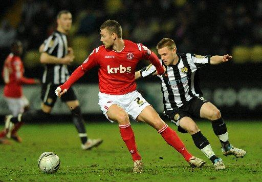 Conor Clifford, right, will be with Crawley until January 5