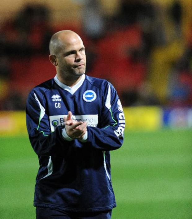 Brighton and Hove Albion coach Charlie Oatway