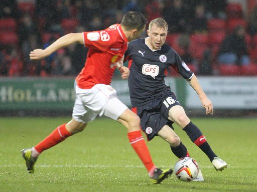 Nicky Adams on the ball for Reds