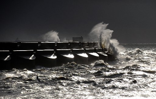 Chaos as strong winds and rain batter Sussex