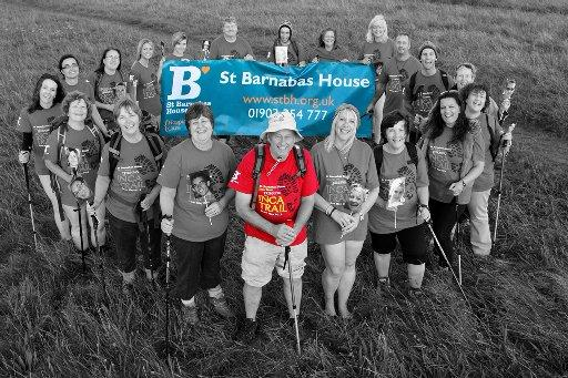 An image from the St Barnabas House Hospice calendar created by friends of Bruce Henward – Pictures by Gary Condon
